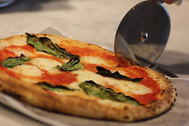 margherita pizza at Pizzeria Locale Denver
