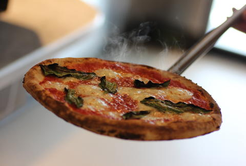 hot pizza from Pizzeria Locale Denver