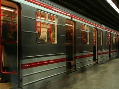 Prague love train
