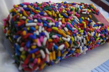 Popsicle with rainbow sprinkles from Hip Pops