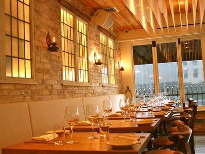Interior at Anassa Taverna