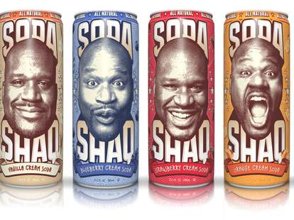 The four flavors of Soda Shaq