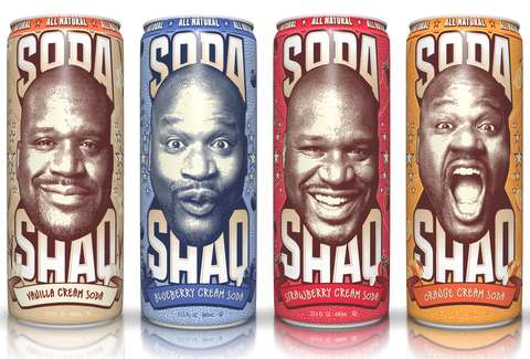 The four flavors of Soda Shaq