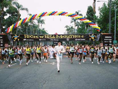 Rock N Roll Marathon in San Diego.