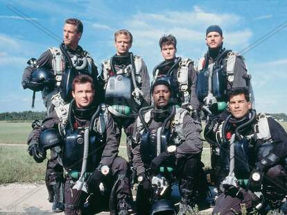 <em>Navy SEALs</em> movie with Charlie Sheen and Bill Paxton