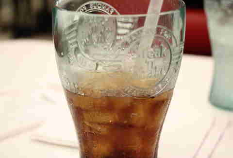 Vanilla Coke at Steak & Shake