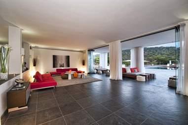 Tagomago Island - La Casa interior