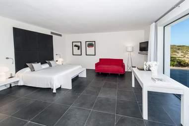 Tagomago Island - La Casa interior bedroom