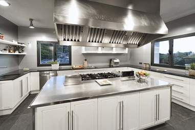 Tagomago Island - La Casa interior kitchen
