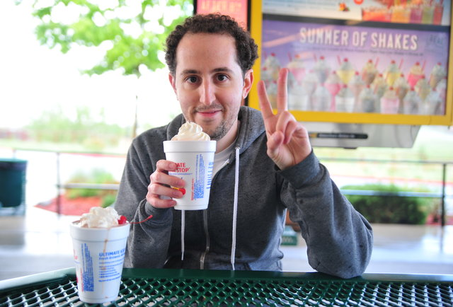 Watch our editor taste-test EVERY SINGLE Sonic shake and slowly go mad