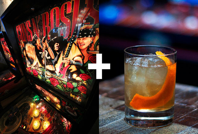 Drink (and play) these flippin\' fantastic cocktail & pinball pairings