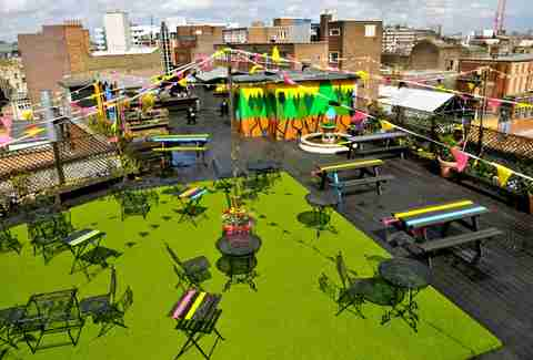 The Queen of Hoxton rooftop