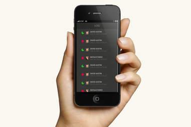 August app log screen