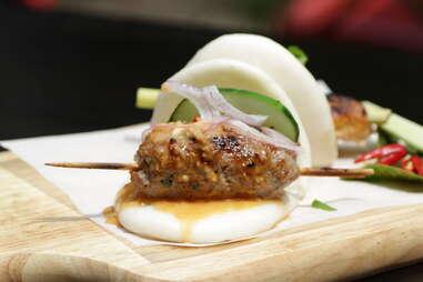 Hawker Bar - Thai Sausage Buns