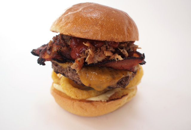 The Oinkster recreates the McRib, the Baconator... and many more