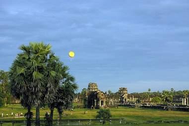 Cambodia ruins park
