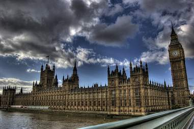 London Parliament skyline