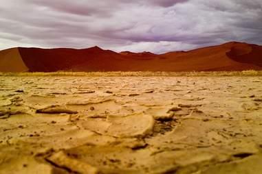 Nambia desert sky