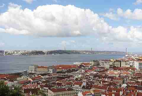 Lisbon Portugal city coast
