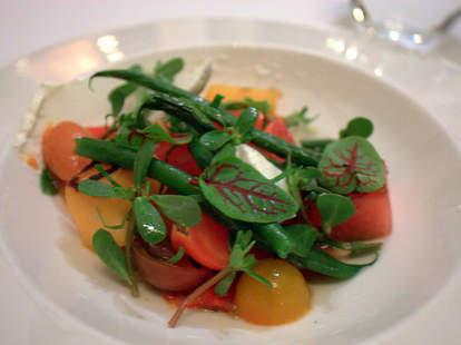 Tomatoes & melon