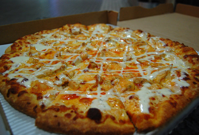 Bowling and Buffalo Wing Pizza in... Little Tokyo?