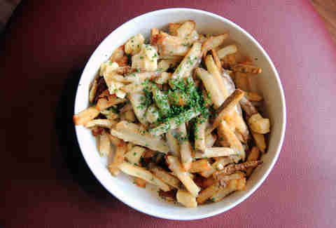 Poutine at Centre Street Sanctuary