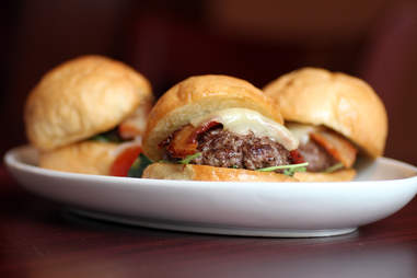 Beef sliders at Centre Street Sanctuary