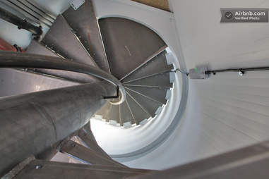 water-tower house stairs