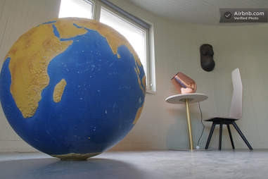 water-tower house globe
