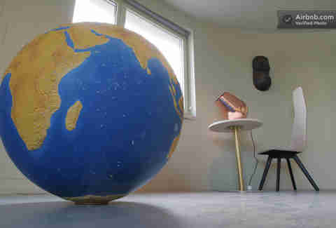 water-tower house globe