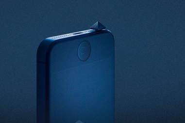 the Mutator plugged into an iPhone