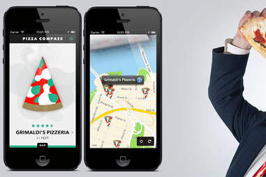 Pizza Compass App