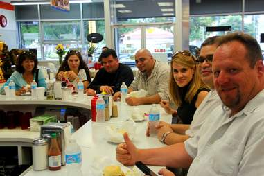 Group at El Rey de las Fritas
