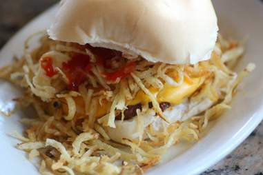 Frita at Galindo's Latin American