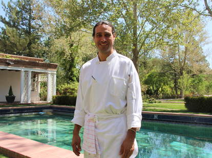Chef Jonathan Perno of Los Poblanos Historic Inn & Organic Farm