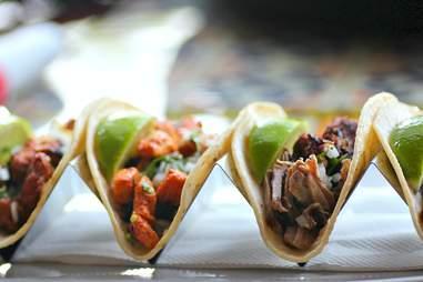 Tacos at TeQuiztlan