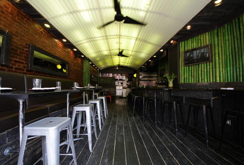 Hawker Bar interior