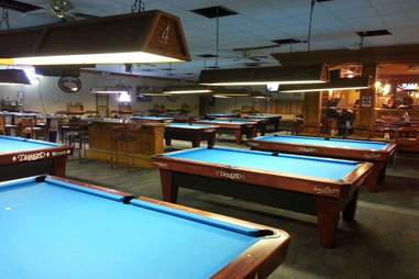 pool tables at Doc & Eddy's