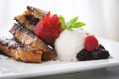 Chocolate French Toast Sandwich for Two at Finch's Bistro and Wine Bar