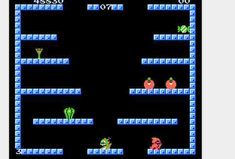 Bubble Bobble.