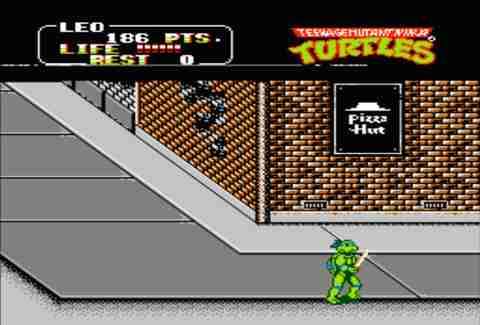 Teenange Mutant Ninja Turtles: The Arcade Game.