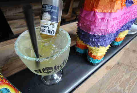 Bulldog-garita at El Hefe in River North