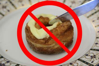 lemon-maple cronut from Dominique Ansel bakery