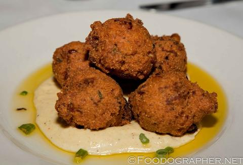 Serendipity New Orleans crawfish hushpuppies
