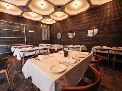 The interior at Benji's Cantina