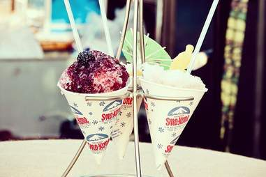 Sno Cones from Derby Cocktail Lounge