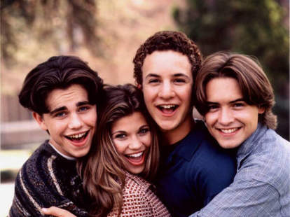 The cast of Boy Meets World