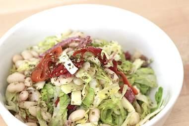 The antipasti salad at Grassa.