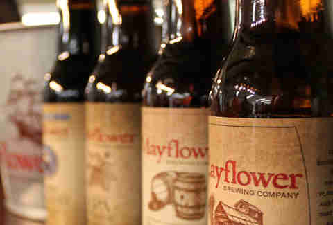 Beer from Mayflower Brewing