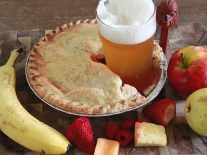 Beer in pie!